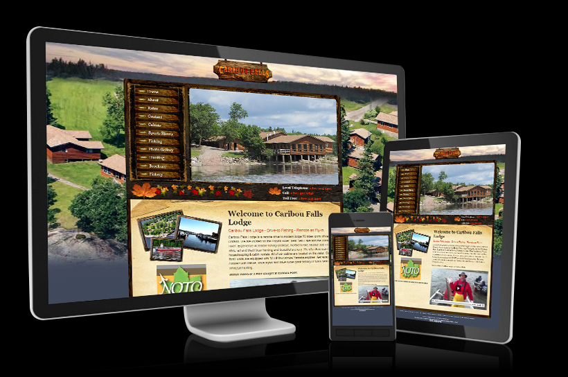 Tourism And Outfitter Website Design