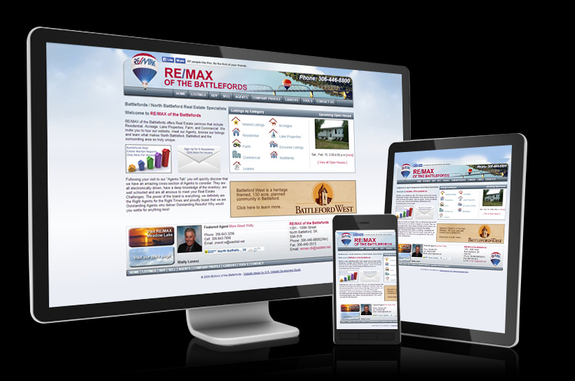 View Real Estate websites we have created for our clients.